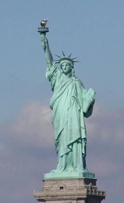 ما الهدف من وضع تمثال الحرية في نيويورك معلومة ثقافية