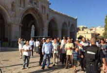 وزير في حكومة الاحتلال الإسرائيلي يقود اقتحاماً للمسجد الأقصى