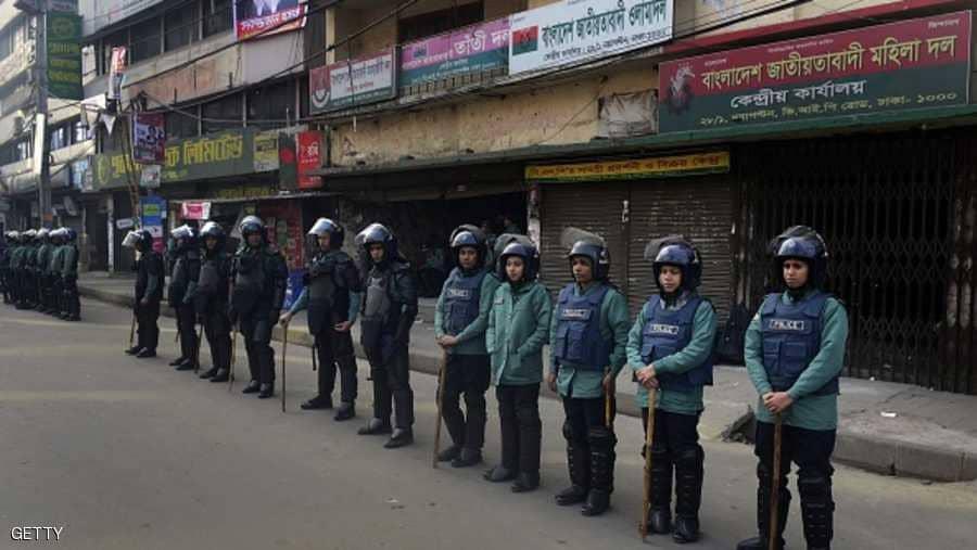 قوات الأمن في بنغلادش - أرشيفية