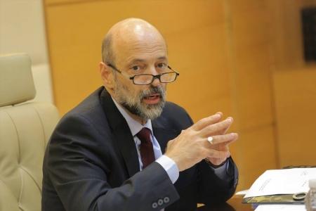 رئيس الوزراء الدكتور عمر الرزاز-(أرشيفية)