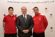 الأمير فيصل بن الحسين يُكرم زيد مصطفى وفارس العساف على إنجازهما في أولمبياد الشباب بالأرجنتين