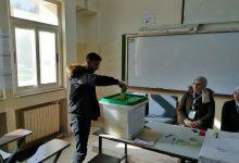 جانب من انتخابات اتحاد طلبة جامعة مؤتة