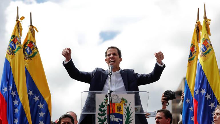 رئيس البرلمان الفنزويلي خوان غوايدو