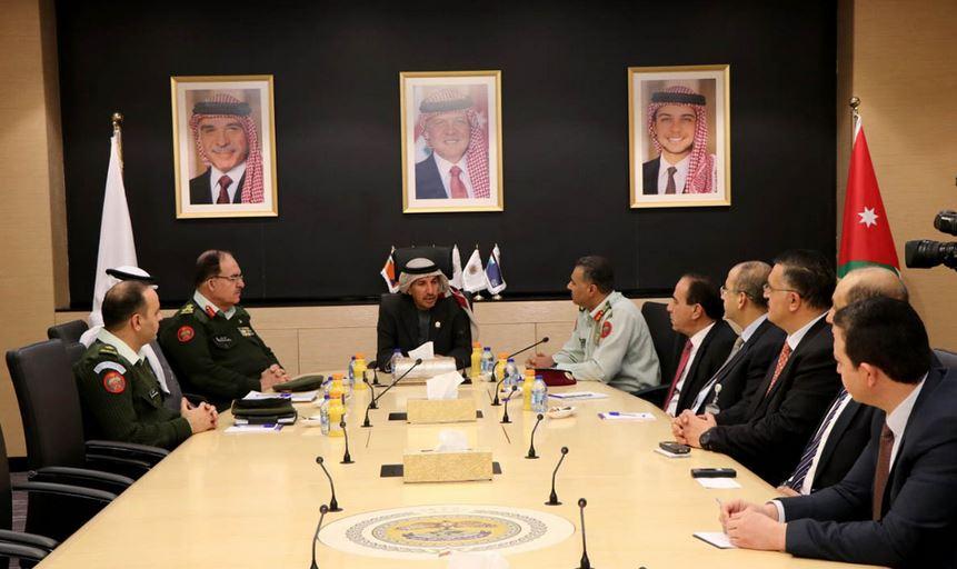 تعاون مشترك بين إدارة الأزمات ووكالة الإمارات للفضاء -(بترا)