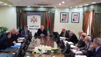 وزير العمل يلتقي مجلس الشراكة في قطاع الإنشاءات