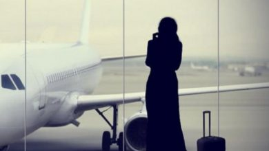تعبيرية عن السفر