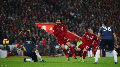 من مباراة ليفربول ومانشستر يونايتد في ديسمبر 2018