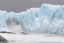 العلماء لم يحددوا موعد انفصال الجبل الجليدي