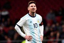 كان ميسي حاضرا في المباراة الأخيرة لمنتخب بلاده أمام فنزويلا