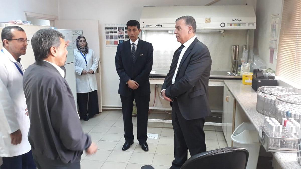 جابر يعتبر وزارة الصحة  غير رشيقة  - Alghad