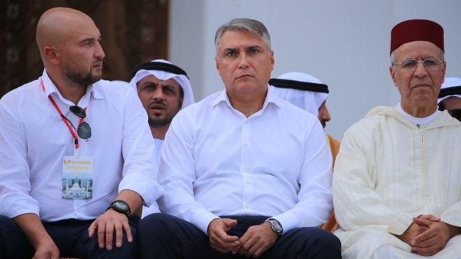 افتتاح أكبر مسجد في القارة الأوروبية 108471444_gettyimages-1163280293