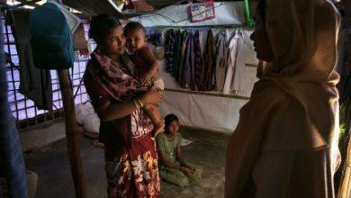 يعيش نحو مليون شخص من أقلية الروهينجا المسلمة في مخيمات للاجئين في بنغلاديش