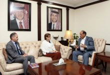 وزير الداخلية يلتقي ممثل مفوضية الامم المتحدة لشؤون اللاجئين