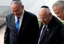 الرئيس الإسرائلي يتوسط نتنياهو وغانتس _ أرشيفية