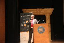 مدير مركز الحياة - راصد عامر بني عامر يحاضر في طلبة معهد اليوبيل والفريق الاكاديمي.اليوم الاربعاء - من المصدر