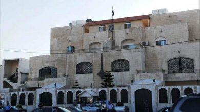مبنى السفارة السورية في عمان - أرشيفية