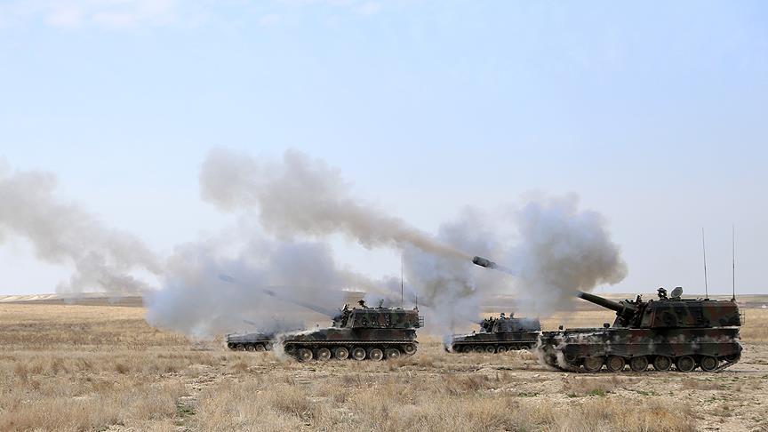 مدفعية تركية