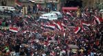من المظاهرات في العاصمة العراقية بغداد -أ ف ب