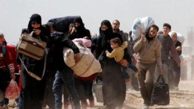 نزوح سوريين