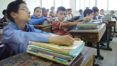طلبة في إحدى مدارس عمان .-(أرشيفية)