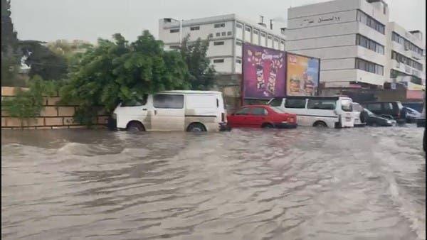 لبنان تغرق