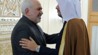 وزير الخارجية الإيراني محمد جواد ظريف جولة أولى من المحادثات مع نظيره القطري محمد بن عبد الرحمن آل ثاني