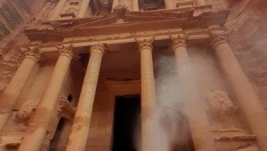من تعقيم الخزنة الأثرية في البترا الوردية - الغد