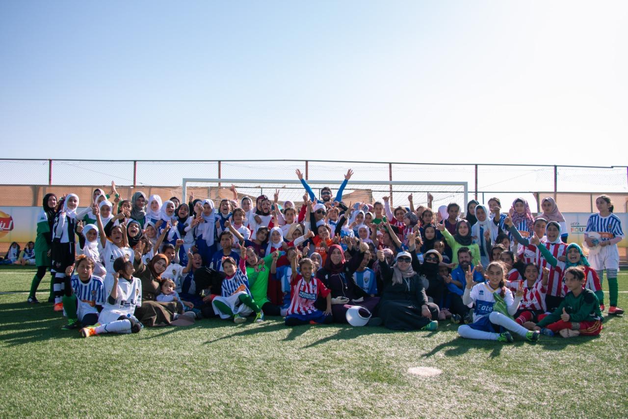 من فعاليات يوم المراة العالمي في الزعتري