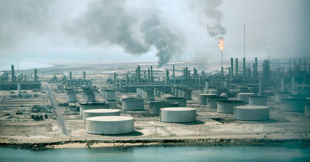 انتاج النفط في السعودية