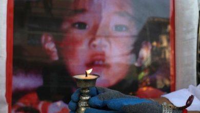 كدهون تشويكيي نييما وقع عليه الاختيار ليكون بانشن لاما الحادي عشر وكان في السادسة من العمر