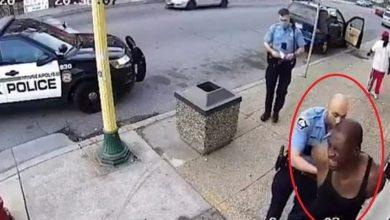 فيديو جديد يظهر فلويد في قبضة رجل الأمن الأميركي