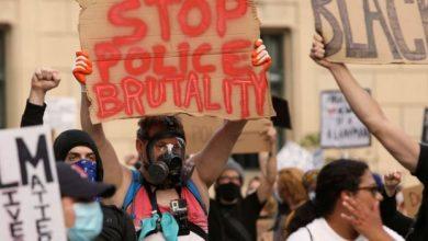 جانت من الاحتجاجات في أميركا بعد مقتل جورج فلويد