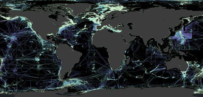 لقد أصبحنا أقل جهلا بما يتعلق بكوكب الأرض. تقول المبادرة، التي تسعى إلى مسح قاع المحيط ورسم خارطة كاملة للتضاريس في محيطات العالم، إن خمس هذه المهمة قد اكتمل الآن.