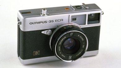 """كاميرا من انتاج شركة """"أوليمبوس"""" عام 1970"""