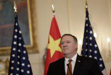 وزير الخارجية الأمريكي مايك بومبيو،