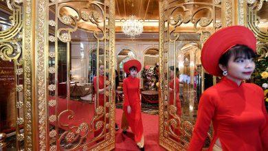 """""""أول"""" فندق مطلي بالذهب أبوابه في هانوي عاصمة فيتنام"""