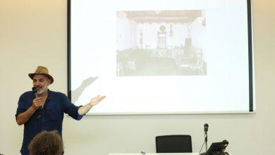 المخرج الفلسطيني رشيد مشهرواي خلال مشاركته في الدورة الفائته من الجونة السيتمائي