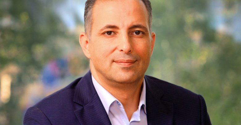 """رئيس التحرير المسؤول لصحيفة """"الغد"""" الزميل مكرم الطراونة -(تصوير: محمد مغايضة)"""