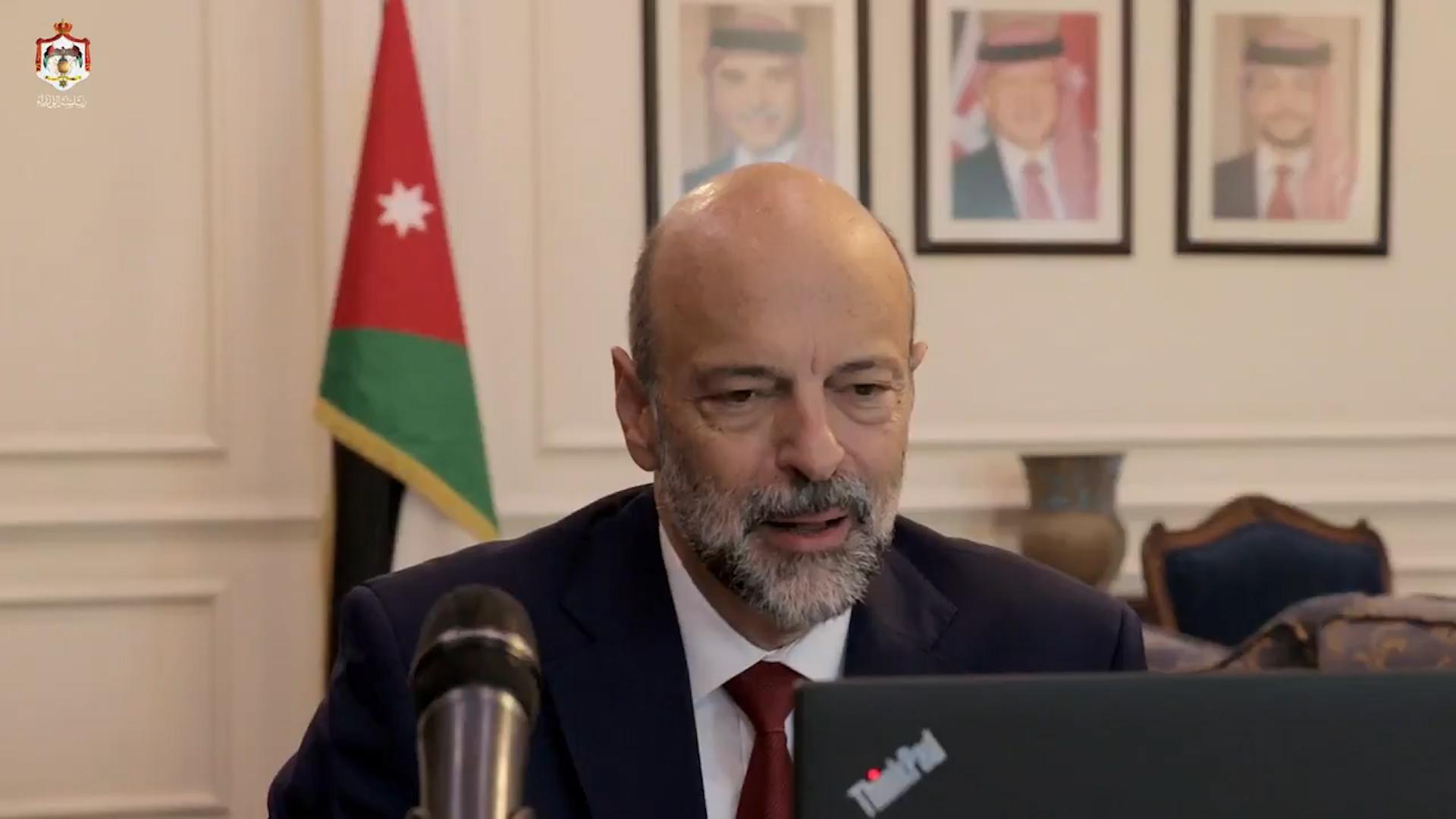 رئيس الوزراء يرعى افتتاح معسكرات الحسين للعمل والبناء 2020 الرقمية