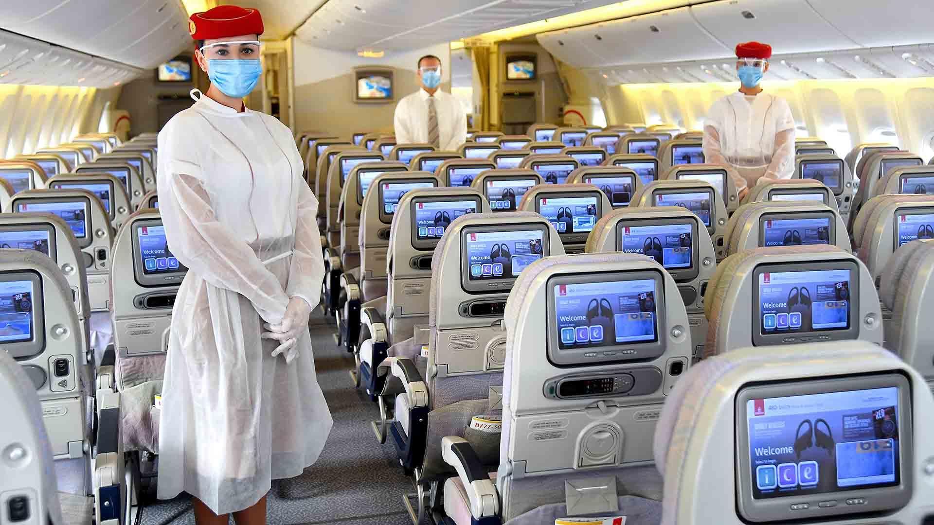 الطيران الاماراتي واستعدادته في زمن كورونا