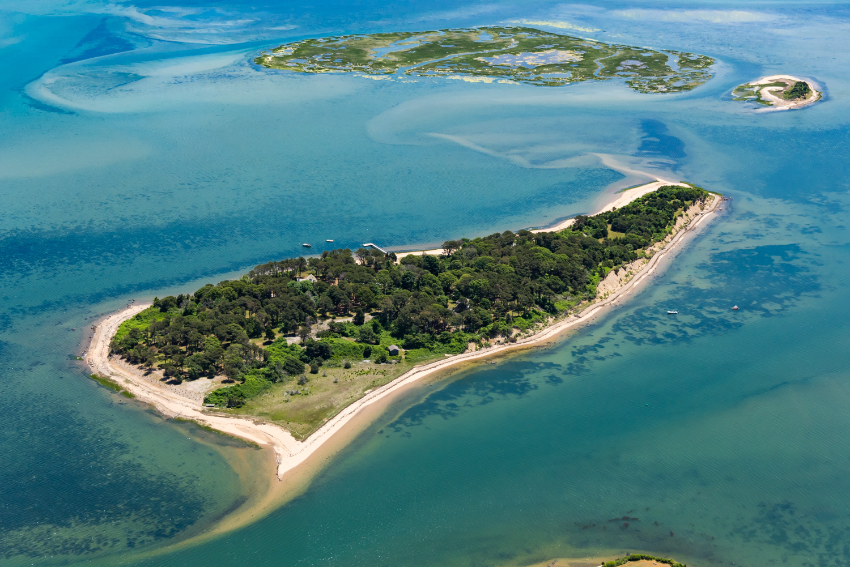 جزيرة سيبسون كما تبدو من الجو