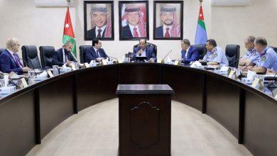 اجتماع لجنة تنظيم ومتابعة الحدود والمطارات في وزارة الداخلية - من المصدر