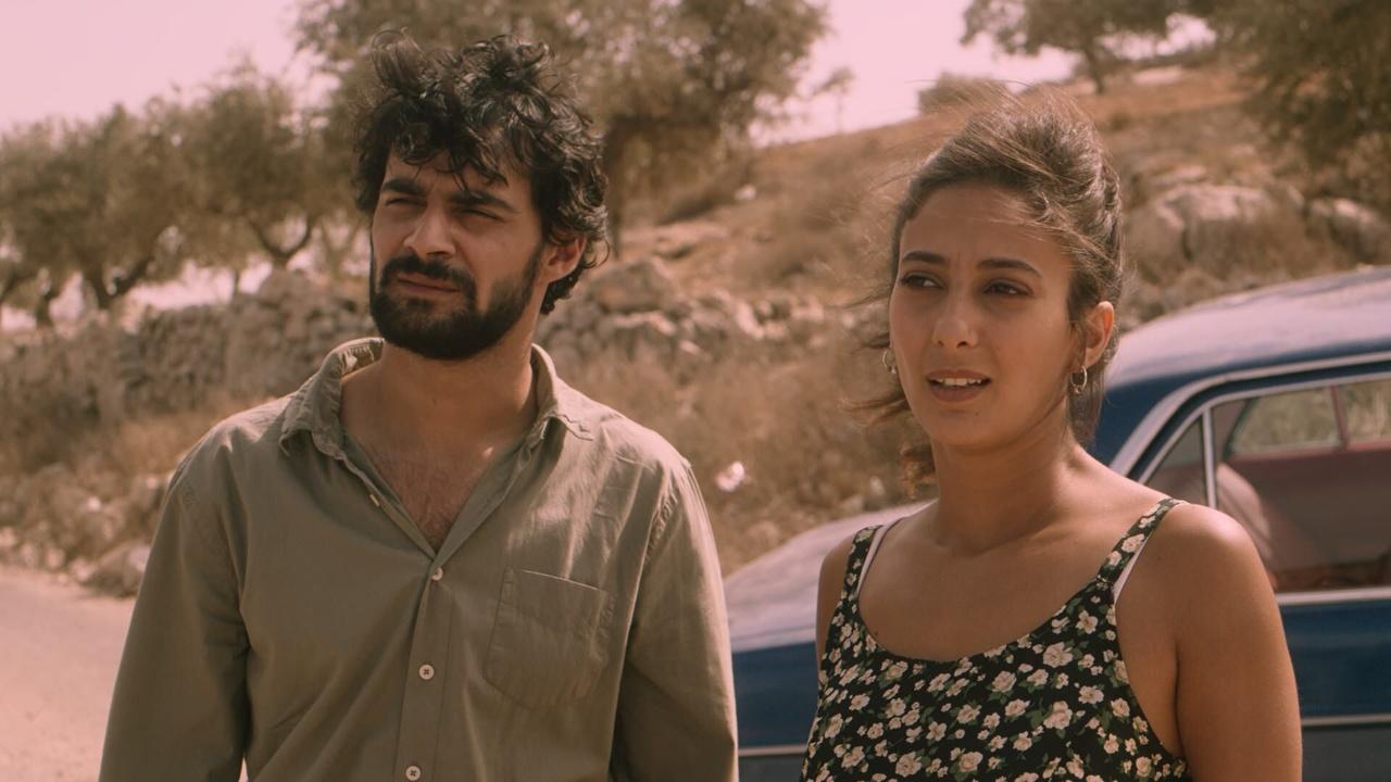 مشهد من فيلم بين الجنة والأرض للمخرجة نجوى النجار